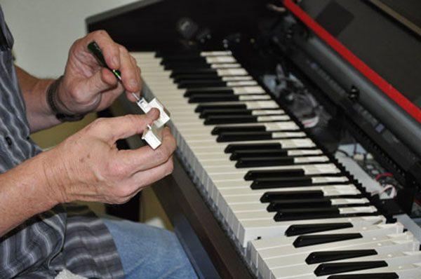 cách sửa phím đàn piano, thay phím đàn piano điện